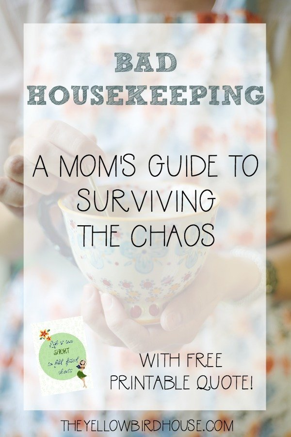 Motherhood can get messy. Here are some tips for managing your home when it seems out of control!