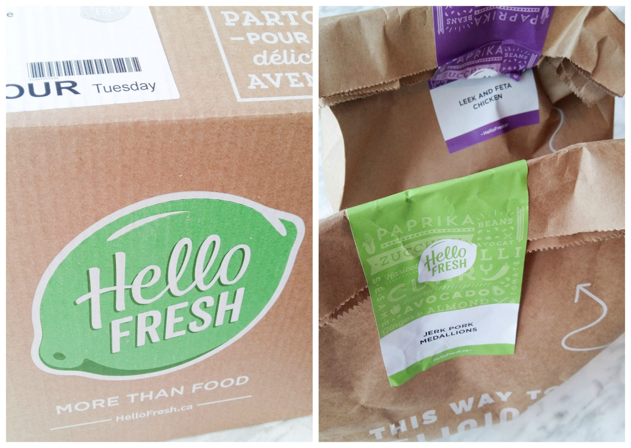 Hello Fresh Makes my life easier with pre-measured and pre-chopped ingredients!