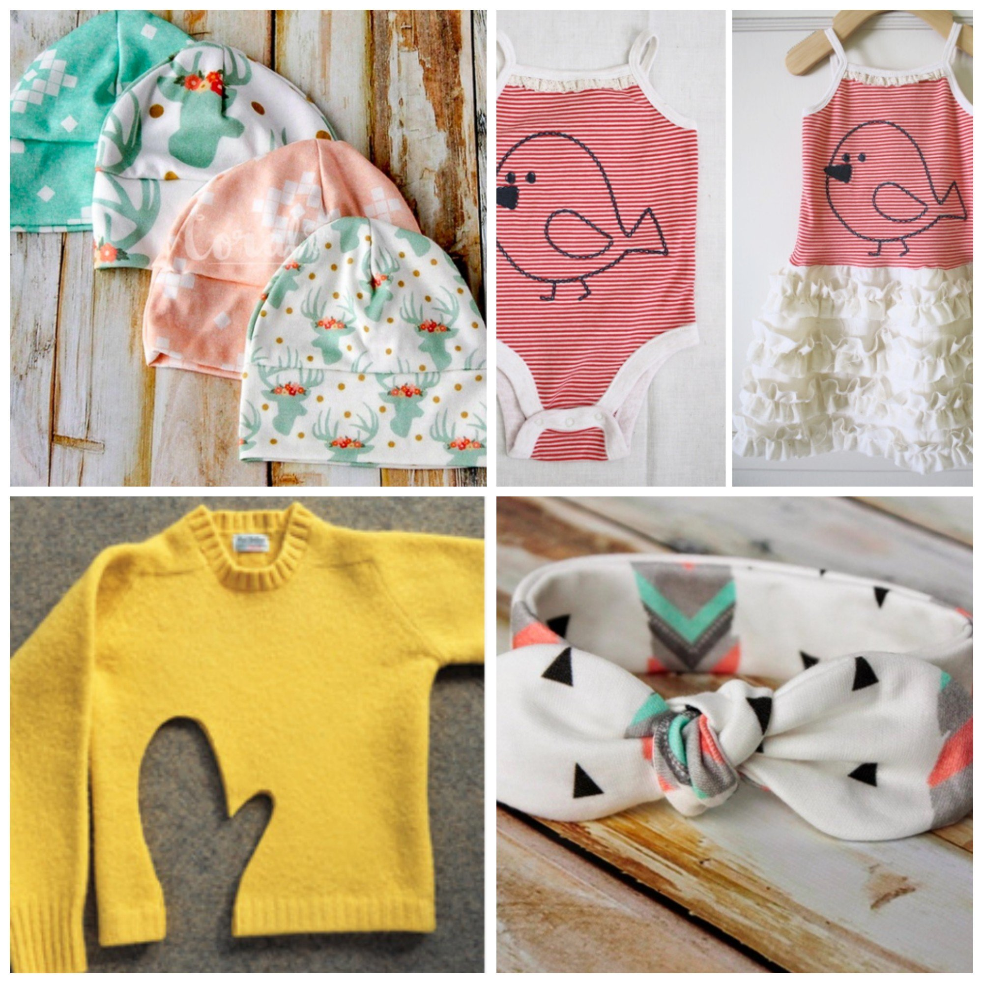 30 creative ways to reuse baby clothes