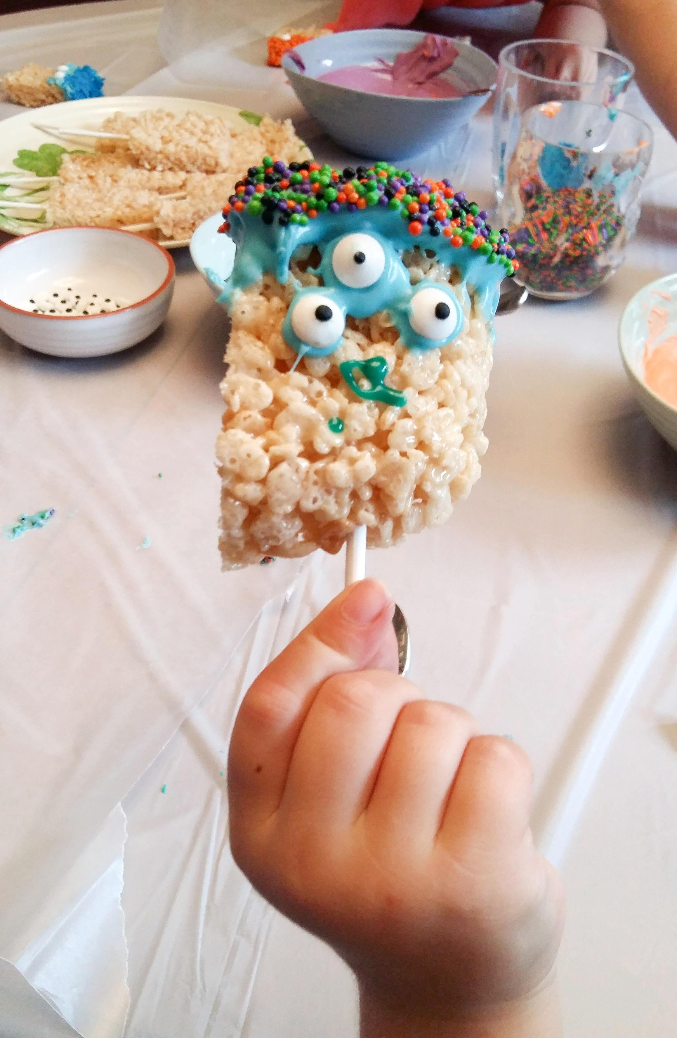 Halloween Monster Treats - Fun Activity for Kids