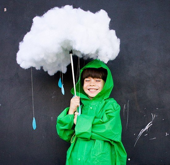 Rain Clouds Costume