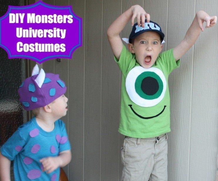 Monster's University DIY Costumes