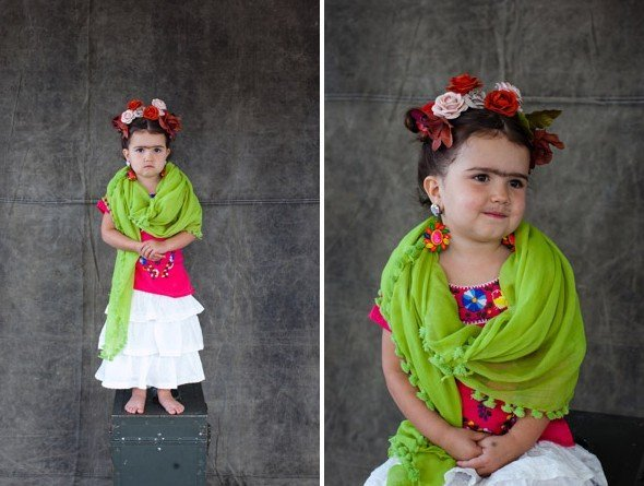 Last Minute Halloween Costume Ideas - Frida Kahlo Costume