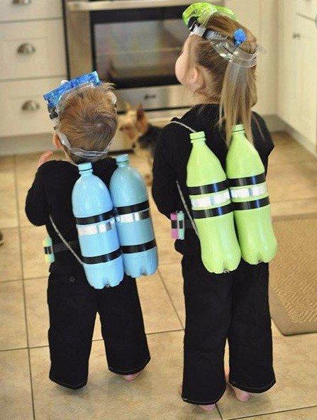 Scuba Diver DIY Costumes