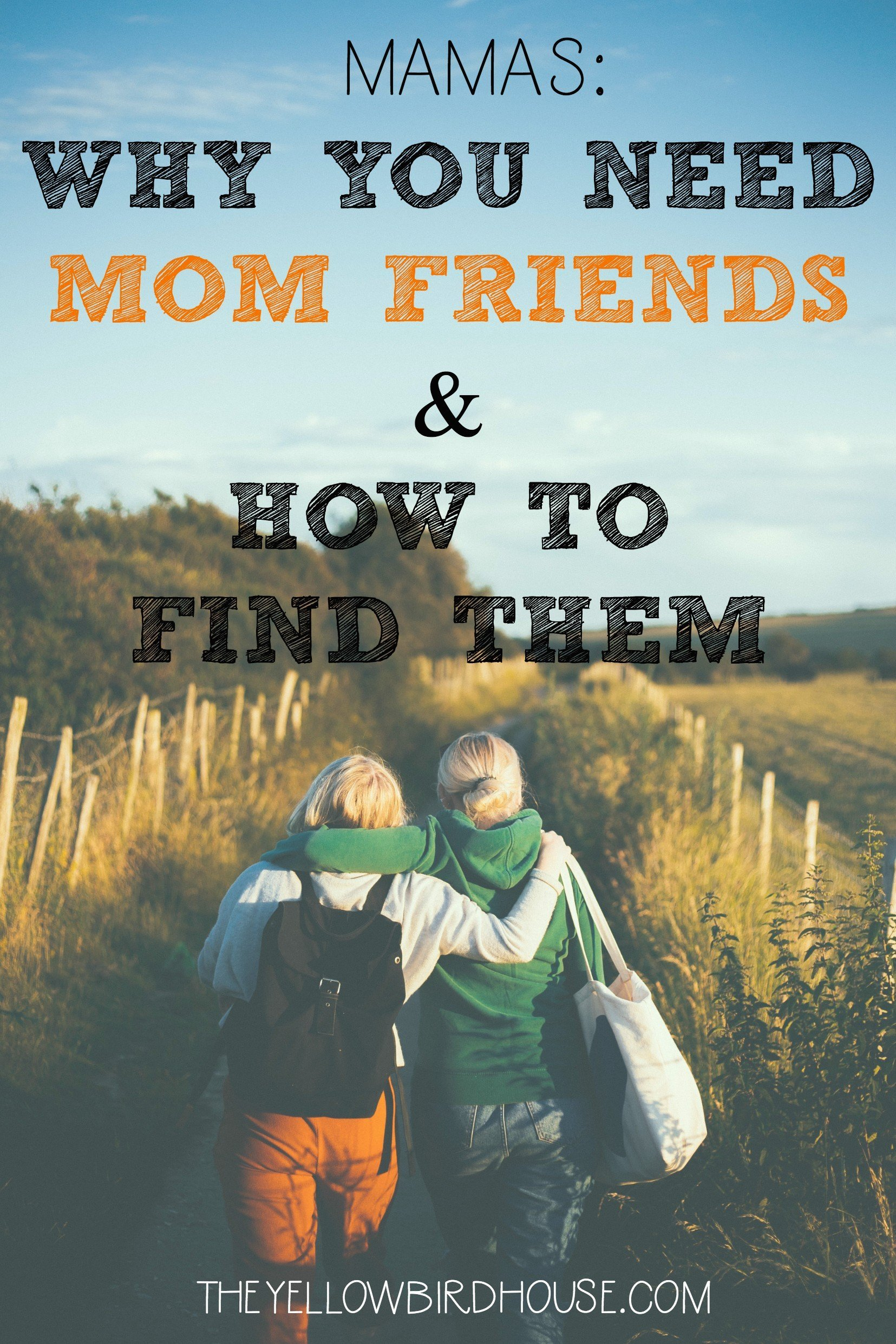 Motherhood can be very lonely, you need mom friends fighting your corner if you're going to get through the early years. Here are the reasons why having mom friends is so important and how you can pursue those friendships.