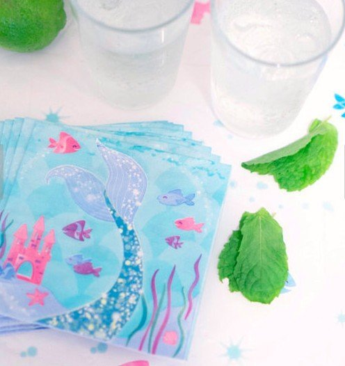 Mermaid Party Paper Napkins