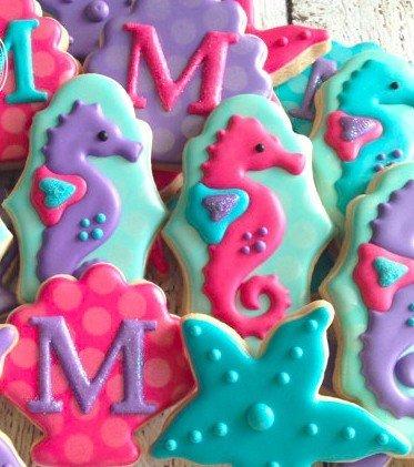 Under the Sea Mermaid Cookies
