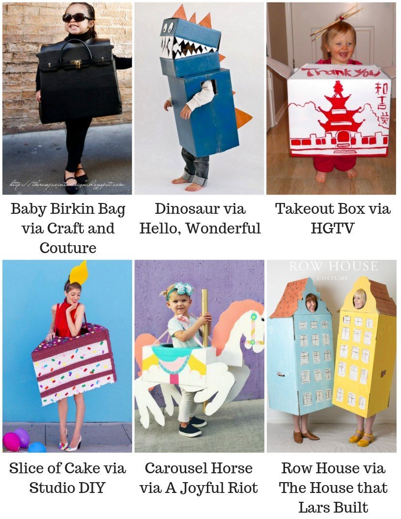 30 costume ideas for adults using cardboard boxes